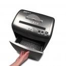 三木(SUNWOOD)M61 锰钢侠系列碎纸机 静音保密办公家用粉碎机 银黑色