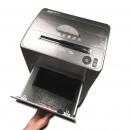 三木(SUNWOOD)M65 锰钢侠系列碎纸机 粉碎机连续碎纸45分钟 银黑色