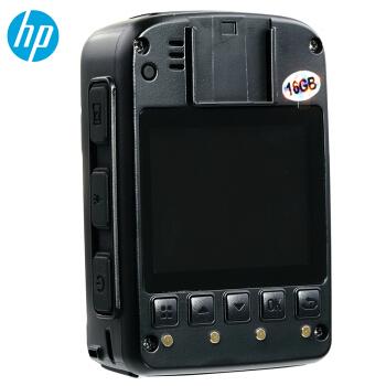 惠普(HP)DSJ-A8执法记录仪3600万高清记录仪1296P防爆现场记录仪 官方标配1
