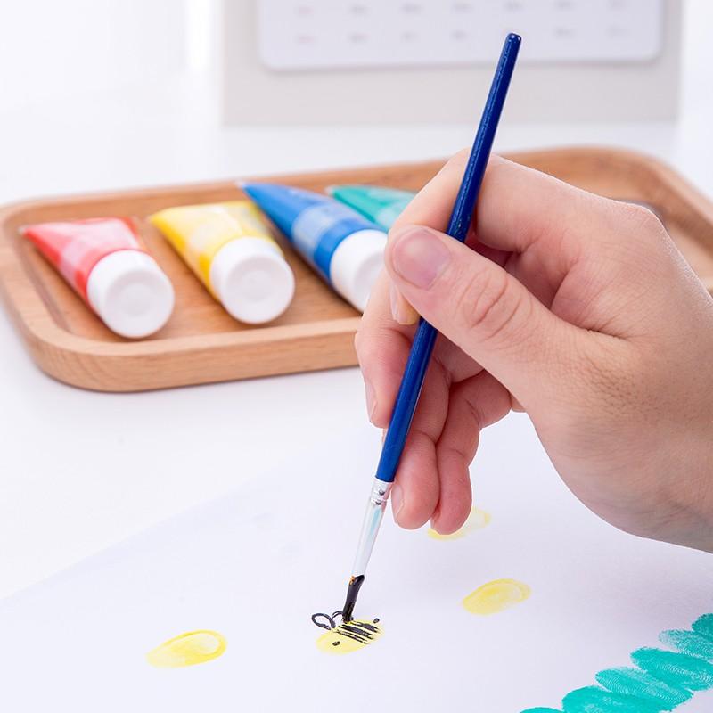 得力(deli)趣味作画手指画颜料6色_12色 73872_12色20ml彩盒装