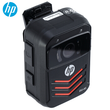 惠普(HP)DSJ-A5执法记录仪1296P高清红外夜视现场记录仪 官方标配128G