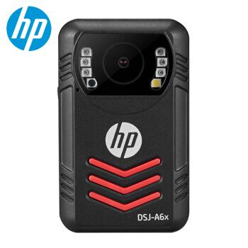 惠普(HP)DSJ-A6x执法记录仪高清红外夜视1800P现场记录仪 官方标配32G