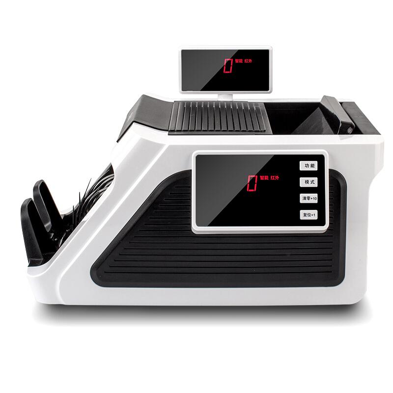 得力(deli)2170点钞机 支持新老版货币 便携式可充电验钞机