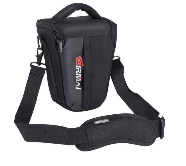 锐玛(EIRMAI) EMB-SS02(L) 单反斜跨摄影相机三角包 防水防震呵护相机