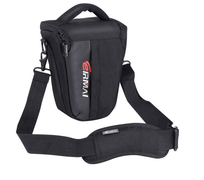 锐玛(EIRMAI) EMB-SS02(S) 单反斜跨摄影相机三角包 防水防震呵护相机