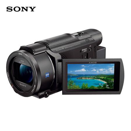 索尼(SONY)FDR-AX60 家用直播4K高清数码摄像机 含64卡