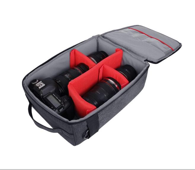 锐玛(EIRMAI)DP111S 专业单反相机包 摄影包 防水防震内胆包 灰色