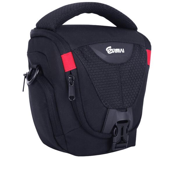 锐玛(EIRMAI)EMB-DA110M 单反相机包 三角包摄影包 单肩休闲包 黑色