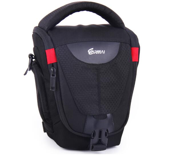 锐玛(EIRMAI)EMB-DA111M 单反相机包 三角包摄影包 单肩休闲包 黑色