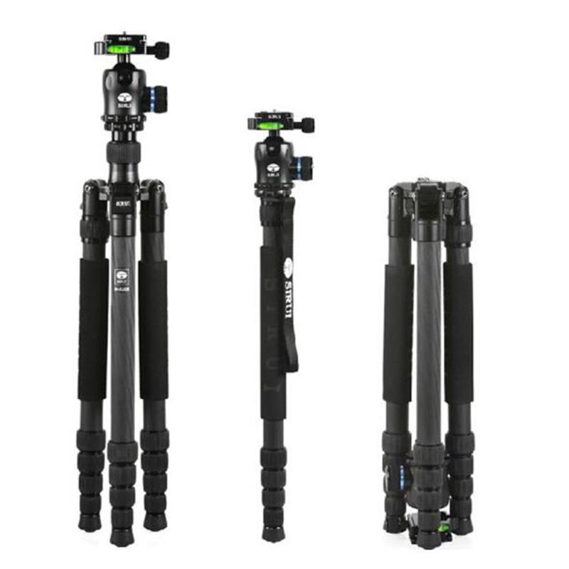思锐(SIRUI)三脚架 N-2205X+K20X 碳纤维含云台佳能尼康单反相机三角架 反