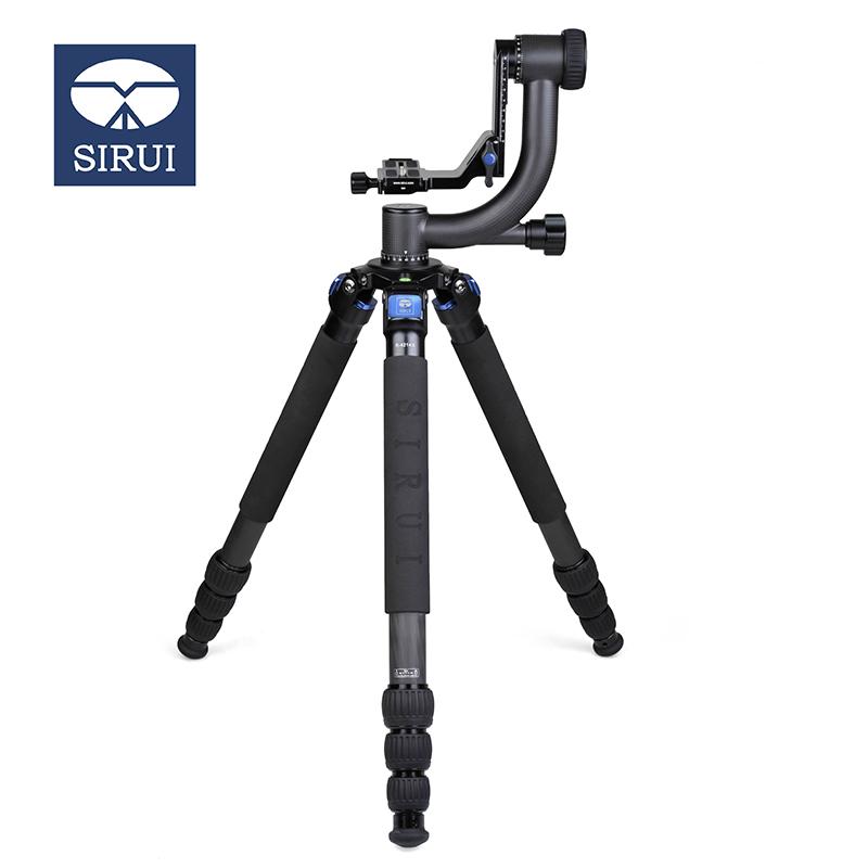 思锐(SIRUI)三脚架 R4214X+PH20 碳纤维三脚架套装单反相机专业摄影三角架悬