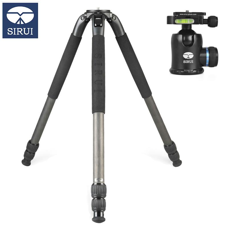 思锐(SIRUI)SR-3203+K-30X 碳纤维三脚架球形云台套装单反相机通用支架高承