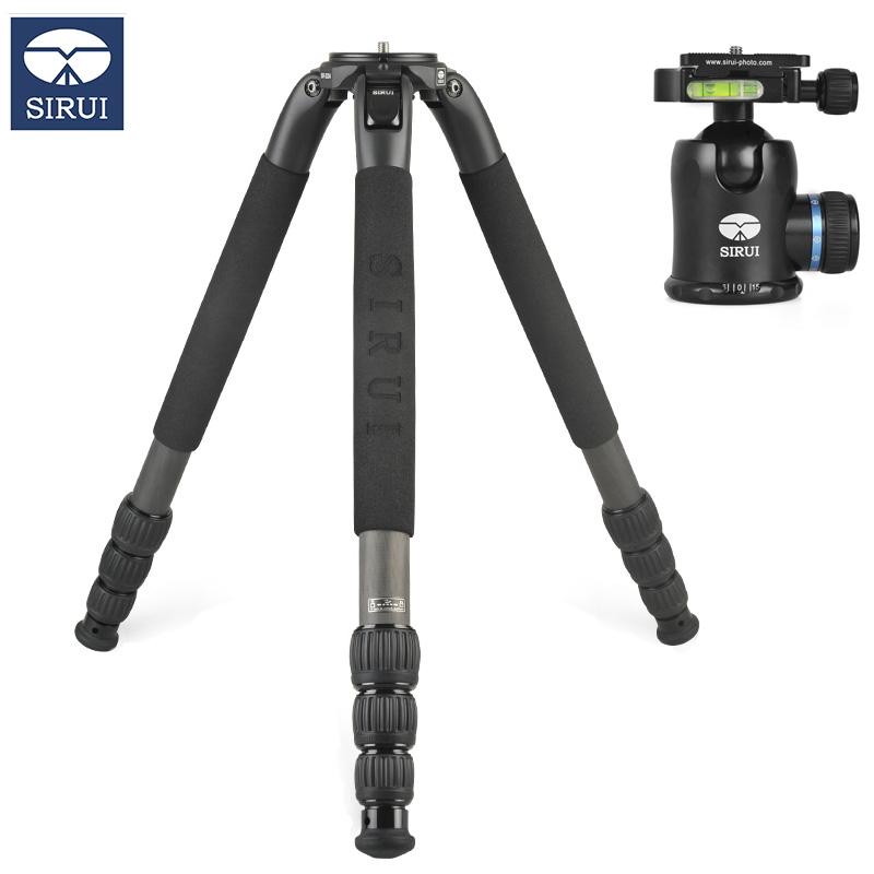 思锐(SIRUI)SR-3204+K-30X 碳纤维三脚架球形云台套装 单反相机通用三角支