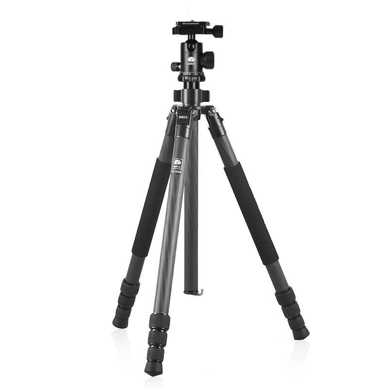 思锐SIRUI R1204+G10KX碳纤维三脚架单反微单相机三角架云台套装