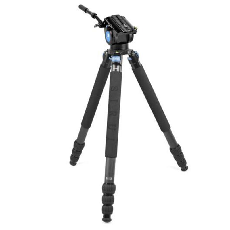 思锐(SIRUI)三脚架 R5214XL+VH15 碳纤维含云台尼康佳能单反相机三脚架
