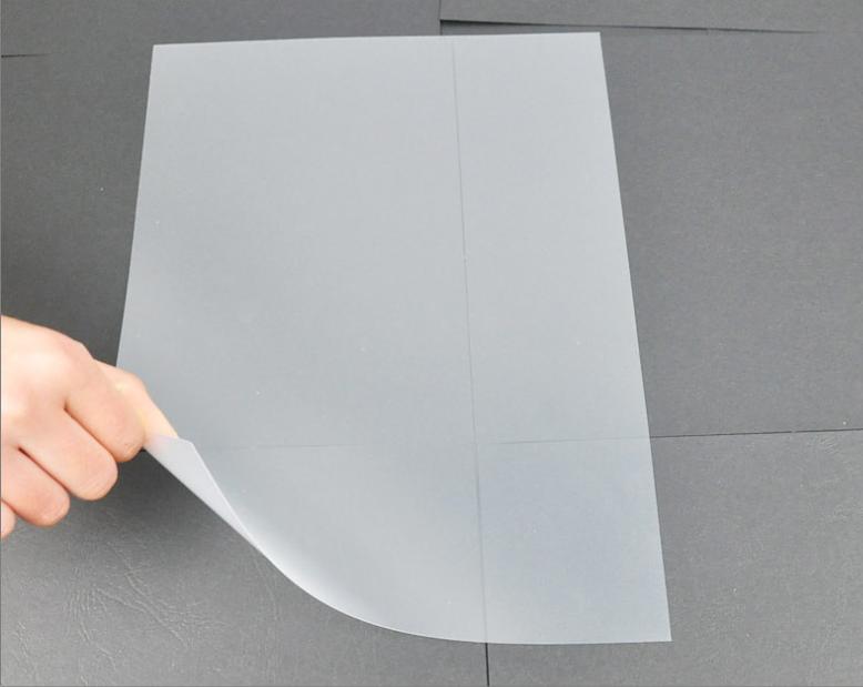 优玛仕A4 0.2mm装订胶片办公订封面装订机使用耗材磨砂