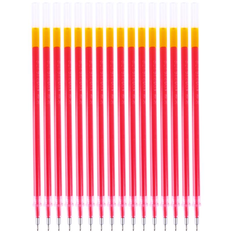 晨光(M&G)AGR65204 半针管中性笔替芯 0.5mm 红色 20支/盒