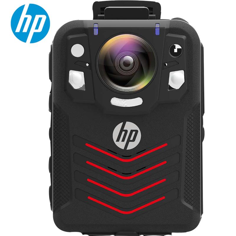 惠普(HP)DSJ-A7高清执法记录仪便携式现场记录仪红外夜视防爆执法记录仪 标配128G