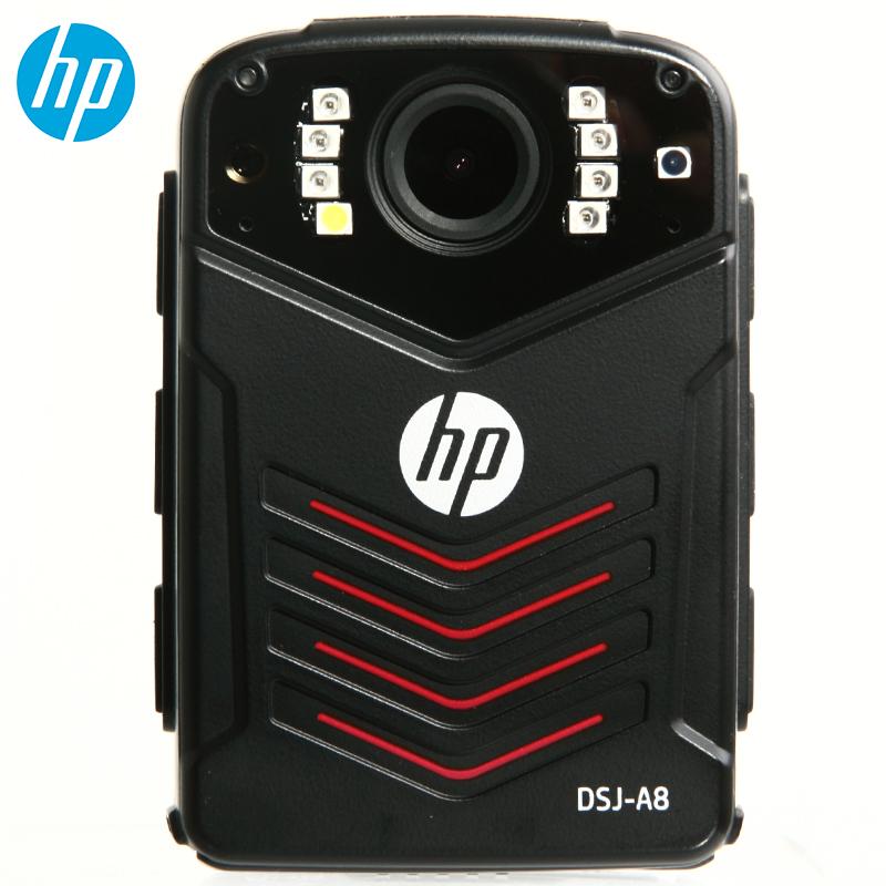 惠普(HP)DSJ-A8执法记录仪3600万高清记录仪1296P防爆现场记录仪 官方标配6
