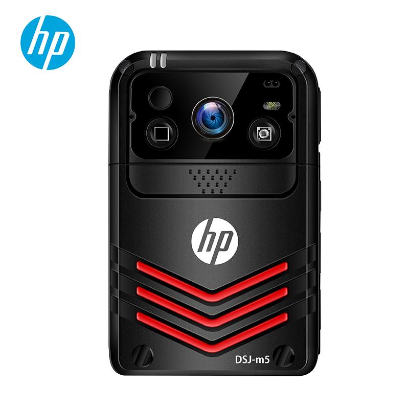 惠普 (HP)DSJ-M5执法记录仪高清便携式4G网络WiFi无线传输GPS实时定位现场远