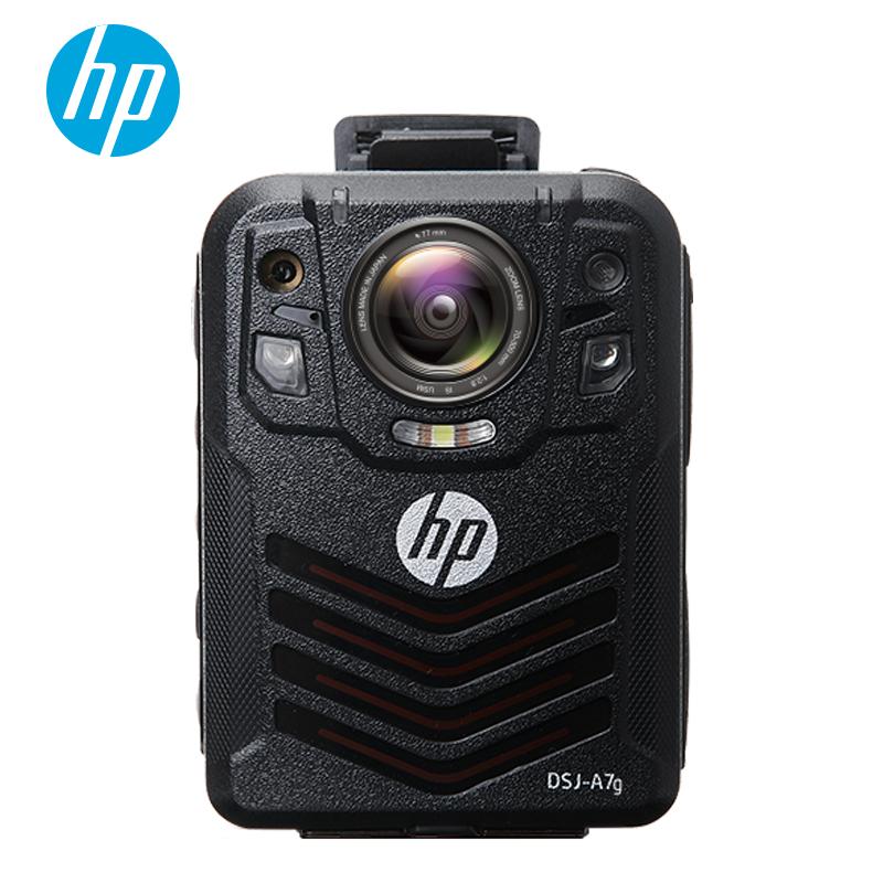 惠普(HP)DSJ-A7G执法记录仪1296P高清红外GPS安霸A7官方标配128G