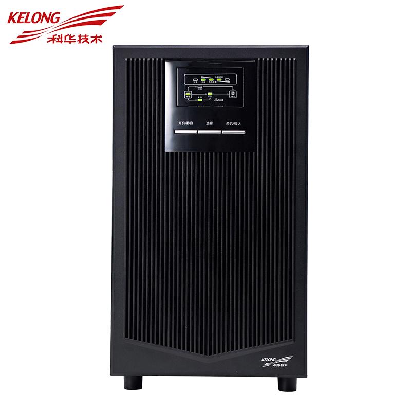 科华UPS不间断电YTR1103在线式电脑服务器稳压内置电池标机 YTR1103 3KVA/2400W 标机内置电池