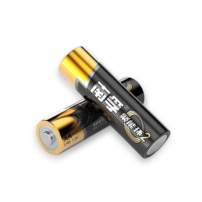 南孚聚能环2代电池 5号电池1节装 五号碱性电池 LR6