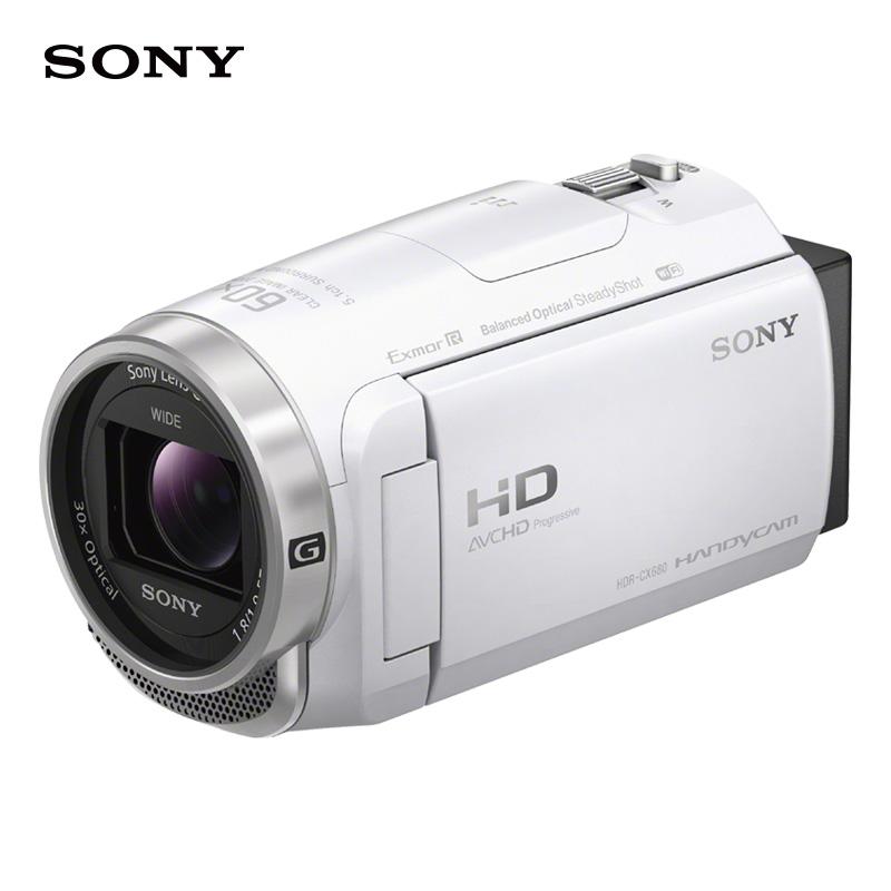 索尼(SONY)HDR-CX680 高清数码摄像机 5轴防抖 30倍光学变焦 家用DV/摄