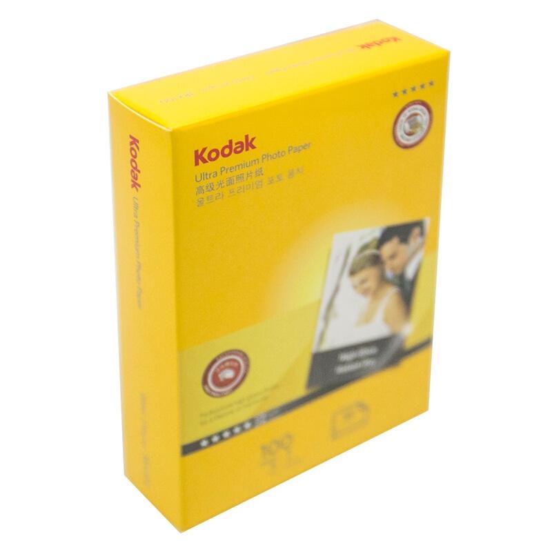 柯达Kodak 5包3R/5寸 270g防水RC高光面照片纸/喷墨打印相片纸/相纸 100
