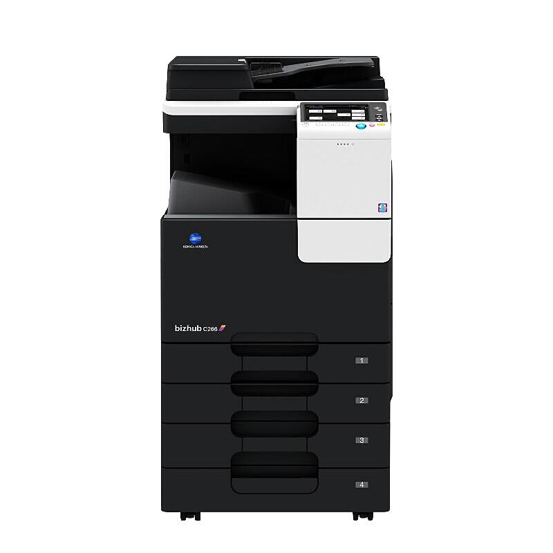 柯尼卡美能达复合机A3复印打印扫描多功能一体机办公商用 bzhubi C266(26页/分
