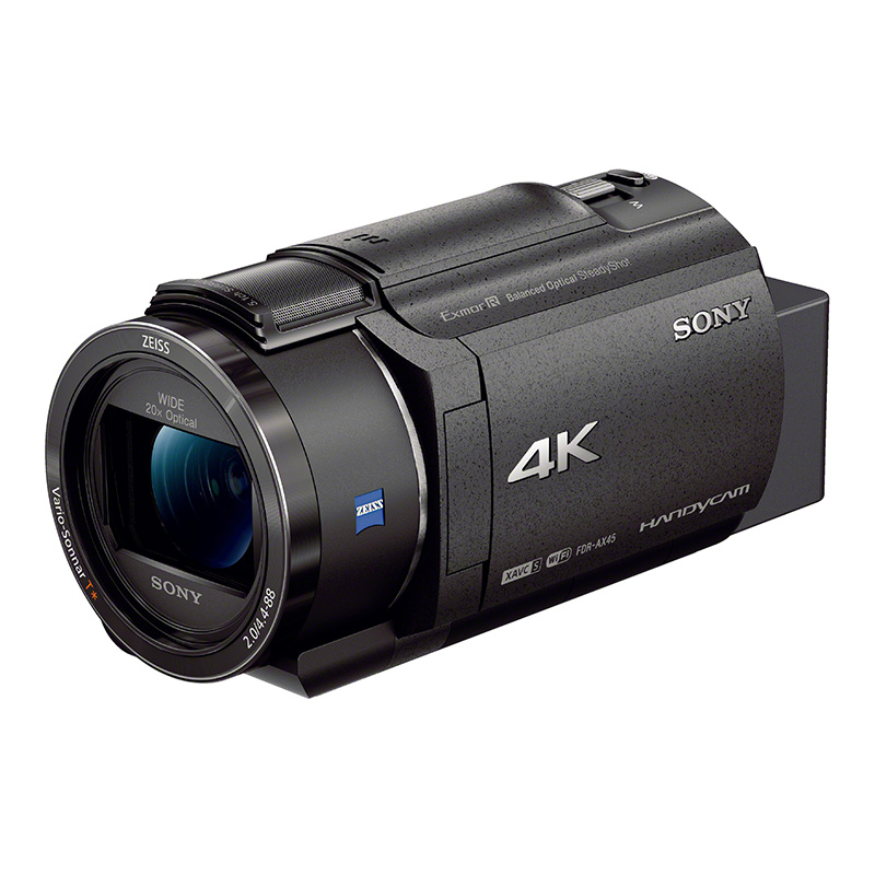 索尼(SONY)FDR-AX45高清4K 数码摄像机 (含卡)