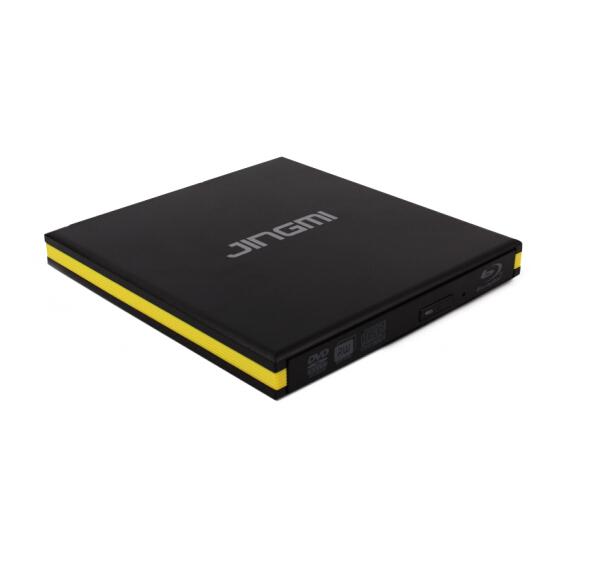 精米 USB3.0外置蓝光光驱 高速外接移动DVD刻录机 支持3D蓝光50G 100G播放 黑色