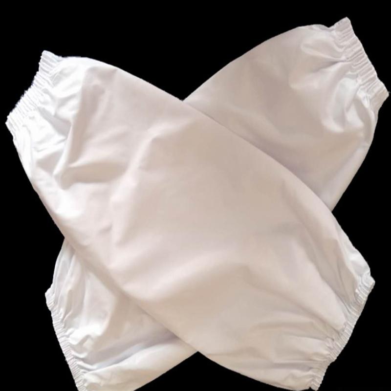 美厨 厨房用套袖防水套袖 PU防污 白色 (单位:副)